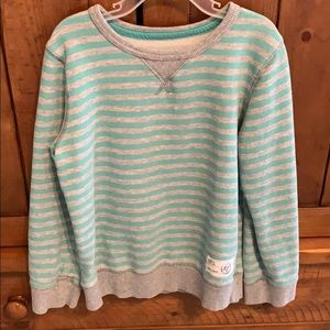 Other - Sz 7 Sonoma striped sweatshirt worn about 3x EUC